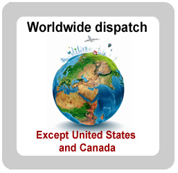 Dispatch Worldwide, except USA and Canada