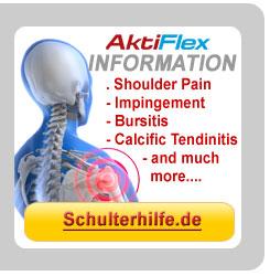 Go to schulterhilfe.de/en and get details about Pain in the Shoulder an our ShoulderTrainer!